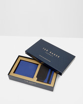Ted Baker Leather wallet and card set