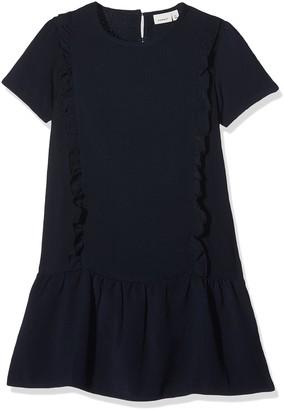 Name It Girl's Nitkanel Ss Dress F NMT