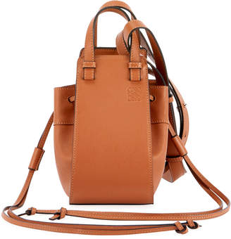 Loewe Hammock Mini Classic Shoulder Bag, Tan