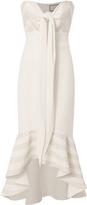 Alexis Florentina Tie Front Bustier Dress