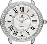 Michele Serein 16 Diamond, Diamond Dial Silver/Steel Watch Head Watches