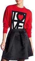 Love Moschino Love Crew Neck Sweater