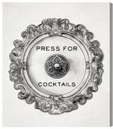 Oliver Gal Press For Cocktails Canvas Wall Art