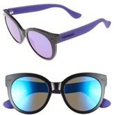 Havaianas Women's 52Mm Cat-Eye Sunglasses - Black Violet