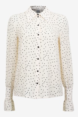 Baum und Pferdgarten Macy Cream Black Flying Dots Shirt - polyester | cream | black dots | sz 38 - Cream
