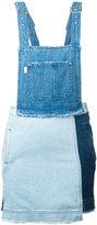SteveJ & YoniP Steve J & Yoni P - denim overall dress - women - Cotton - M