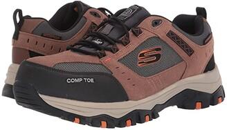 Skechers Greetah (Brown/Black) Men's Shoes