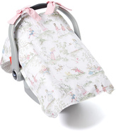 Pink Toile Car Seat Cover