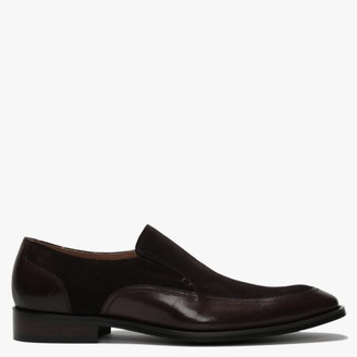 Daniel Xyle Brown Leather & Suede Loafers