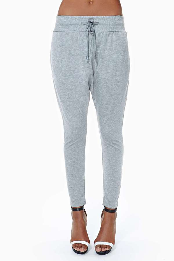Nasty Gal Stay Real Track Pants