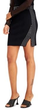 INC International Concepts Inc Studded Skirt, Created for Macy's