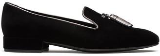 Church's Cassy velvet loafers