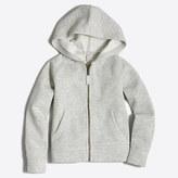 J.Crew Factory Girls' fleece full-zip hoodie