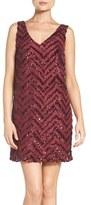 BB Dakota Women's Mayfair Sequin Shift Dress