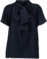 Raoul Raffaella pussy-bow silk blouse