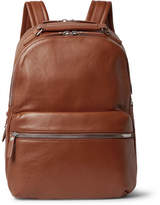 Shinola The Runwell Full-Grain Leather Backpack