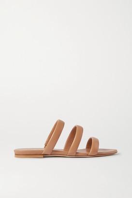 AEYDĒ Chrissy Leather Slides