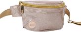 Mi-Pac Glitter Bum Bag, Champagne