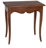 Joe Ruggiero Collection Moselle Solid Wood End Table with Storage