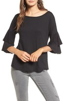 Ten Sixty Sherman Women's Ruffle Sleeve Tee