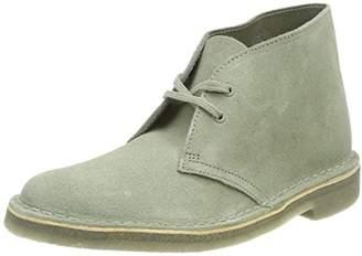Clarks Women's. Desert Boot, Beige (Sage Suede)