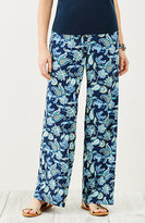 J. Jill Printed Full-Leg Pants