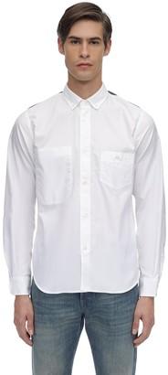 Junya Watanabe Cotton Oxford Shirt W/ Check Details