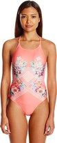 MinkPink Women's Bloomin Beach 1-Piece Swimsuit
