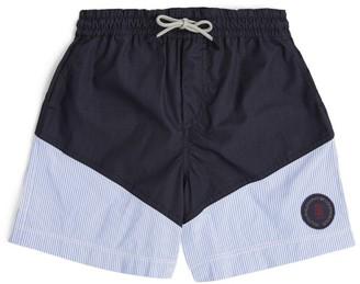 BRUNELLO CUCINELLI KIDS Striped Swim Shorts (12-12+ Years)