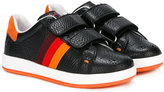 Paul Smith side stripe touch strap sneakers