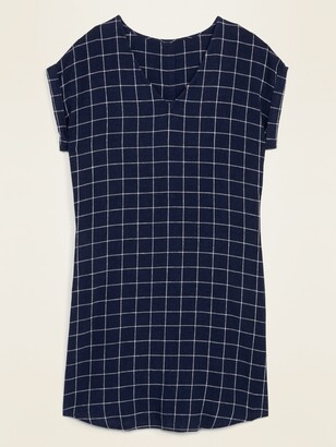 Old Navy V-Neck Button-Back Shift Dress for Women
