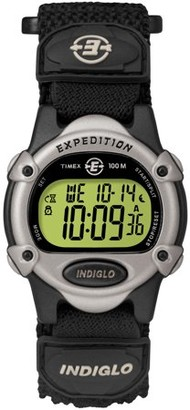 Timex Unisex Expedition Digital CAT Watch, Black Fast Wrap Strap
