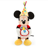 Disney Mickey Mouse Happy Birthday Musical Plush - Medium - 13''