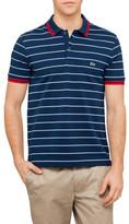 Lacoste Pique Jersey Stripe Polo