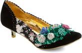 Irregular Choice Black and Bloom Heel
