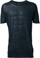 Diesel round neck T-shirt - men - Linen/Flax/Nylon - M