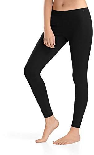 Hanro Women's Balance Leggings Sports Tights, (Black 0019), UK 18