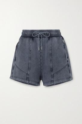 Ninety Percent Paneled Organic Cotton-jersey Shorts - Navy