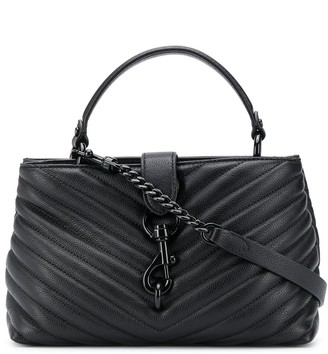 Rebecca Minkoff Quilted Chain Strap Tote Bag