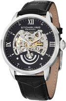 Stuhrling Original Men's 574.02 Symphony Aristocrat Executive II Automatic Skeleton Dial Watch