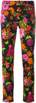 The Seafarer floral print cropped jeans