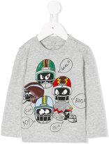 Stella McCartney Stella Helmet print T-shirt