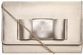Dorothy Perkins DP Occasion Mink bow clutch