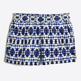 "J.Crew Factory 3"" Printed Boardwalk Pull-On Short"