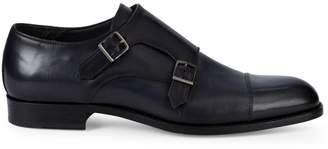 To Boot Quentin Double Monk Strap Dress Shoes