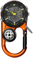 Dakota Men's Orange Ana Digi Angler II Carabiner Clip Watch 37270