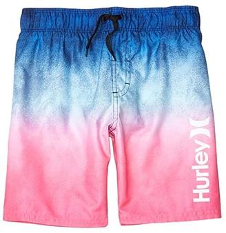 Hurley Gradient Pull-On Boardshorts (Little Kids) (Deep Royal Blue) Boy's Swimwear