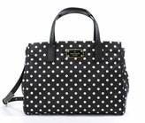 Kate Spade Loden Blake Avenue Diamond Dot Nylon Satchel Crossbody