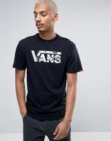 Vans Classic Logo T-shirt In Black V002ogkp1