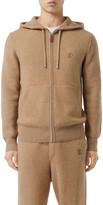 Burberry Men's Lindley Cashmere Zip-Front Hoodie
